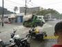 Chuva deixa suburbanos atentos