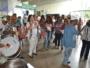 Servidores da saúde reivindicam reajuste salarial e direitos em forró com protesto realizado na Sesab