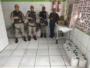 Idosos  da Casa de Repouso de Idosos Bom Jesus são presenteados por policiais da Rondesp Central